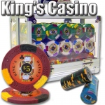 600 Ct - Pre-Packaged - Kings Casino 14 G - Acrylic