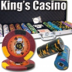 600 Ct - Pre-Packaged - Kings Casino 14 G - Aluminum