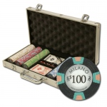 "300Ct Claysmith Gaming ""Milano"" Chip Set in Aluminum Case"