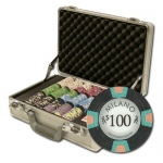 "300Ct Claysmith Gaming ""Milano"" Chip Set in Claysmith Case"