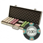 "500Ct Claysmith Gaming ""Milano"" Chip Set in Aluminum Case"