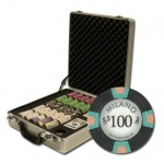 "500Ct Claysmith Gaming ""Milano"" Chip Set in Claysmith Case"