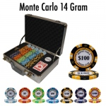 Pre-Pack - 300 Ct Monte Carlo Chip Set Claysmith Case