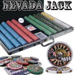 Pre-Packaged - 1000 Ct Nevada Jack 10 Gram Chip Set