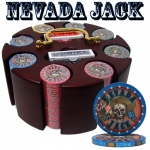 Pre-Packaged - 200 Ct Nevada Jack 10 Gram Chip Carousel Set