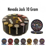 300 Ct - Pre-Packaged - Nevada Jack 10 G - Wooden Carousel