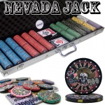 Pre-Packaged - 600 Ct Nevada Jack 10 Gram Chip Set