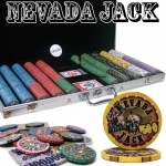 Pre-Packaged - 750 Ct Nevada Jack 10 Gram Chip Set