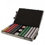 1000 Ct Standard Breakout Scroll Chip Set - Rolling Case