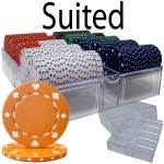 200 Ct - Pre-Packaged - Suited 11.5 G - Acrylic Tray