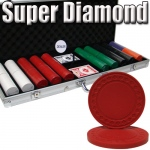 Standard Breakout 500 Ct Super Diamond Chip Set - Aluminum