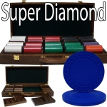 Standard Breakout 500 Ct Super Diamond Chip Set - Walnut