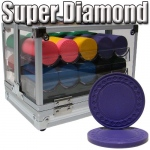 Standard Breakout 600 Ct Super Diamond Chip Set - Acrylic