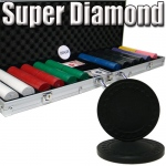 Standard Breakout 600 Ct Super Diamond Chip Set - Aluminum