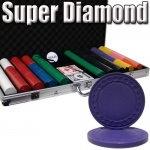 Standard Breakout 750 Ct Super Diamond Chip Set - Aluminum