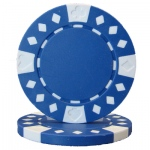 Roll of 25 - Diamond Suited 12.5 gram - Blue