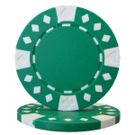 Roll of 25 - Diamond Suited 12.5 gram - Green