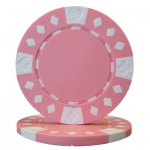 Roll of 25 - Diamond Suited 12.5 gram - Pink