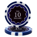 Roll of 25 - Eclipse 14 Gram Poker Chips - $10