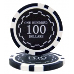 Roll of 25 - Eclipse 14 Gram Poker Chips - $100