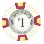 Roll of 25 - Milano 10 Gram Clay - $1