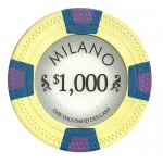 Roll of 25 - Milano 10 Gram Clay - $1000
