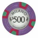 Roll of 25 - Milano 10 Gram Clay - $500