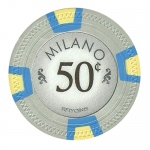 Roll of 25 - Milano 10 Gram Clay - .50¢  (cent)