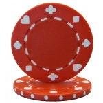 Roll of 25 - Red 7.5 Gram Suited Poker Chip