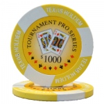 Roll of 25 - Tournament Pro 11.5 gram - $1,000