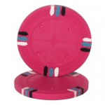 Pink Blank Claysmith 12 Stripe Poker Chip - 13.5grams