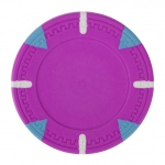 Pink Blank Claysmith Triangle and Stick Poker Chip - 13.5g