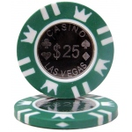 Coin Inlay 15 Gram - $25 Chip