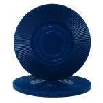 Dark Blue Interlocking Radial Chip
