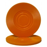 Orange Interlocking Radial Chip