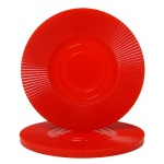Red Interlocking Radial Chip