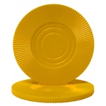 Yellow Interlocking Radial Chip