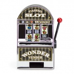 Bars and Sevens Slot Machine Bank