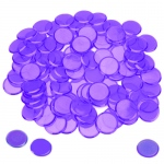 100 Pack Purple Bingo Chips