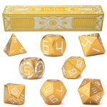 Set of 8 Dorado Gold Precision Aluminum Polyhedrals