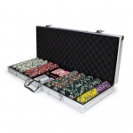 500ct Claysmith Gaming Showdown Chip Set in Aluminum