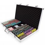 750ct Claysmith Gaming Showdown Chip Set in Aluminum
