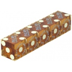 Casino Supply Used Casino Dice: Amber, 3/4 Inch, Set of 5