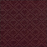 Casino Supply Poker Table Waterproof Suited Speed Cloth: Burgundy, Sold per Running Foot