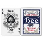 Casino Supply Bee 92 Regular Index Playing Cards: Blue, Casino Grade