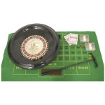 Casino Supply Roulette Set with 16 Inch Wheel