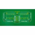 Casino Supply Craps Felt Layout