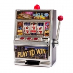 Casino Supply Jumbo Slot Machine Coin Savings Bank