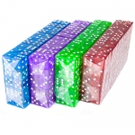 400 Dice - 19mm - Red, Blue, Green, Purple