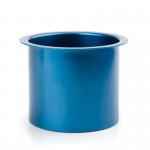 Casino Supply Colored Aluminum Jumbo Drop in Drink Holders: Dark Blue